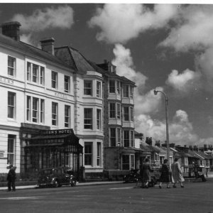 Queen's Hotel and The Esplanade, Penzance (my title)